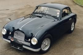 Aston Martin DB2 – widok z przodu
