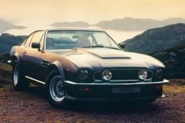 Aston Martin V8 Vantage – widok z przodu