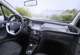 Citroën C3 od wewnątrz