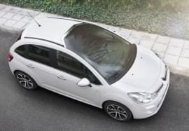 Citroën C3 od góry