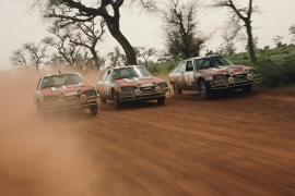 Citroën CX w rajdzie Senegal
