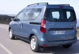 Dacia Dokker z tyłu