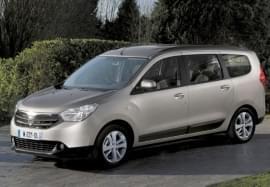Dacia Lodgy z przodu