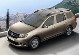 Dacia Logan z góry