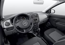 Dacia Sandero od środka