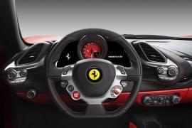 Ferrari 488 – kierownica
