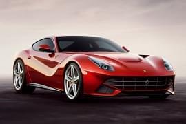 Ferrari F12 Berlinetta – widok z przodu