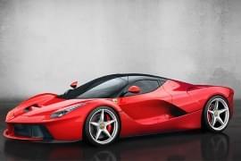 Ferrari LaFerrari – widok z przodu