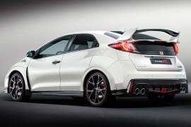 Honda Civic typ R – widok od tyłu