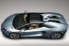 Lamborghini Aventador widok od góry
