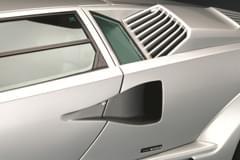 Lamborghini Countach – detal, wywietrznik