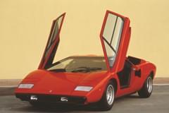 Lamborghini Countach – widok z przodu