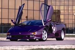 Lamborghini Diablo – widok z boku