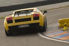 Lamborghini Gallardo Superleggere – widok z tyłu