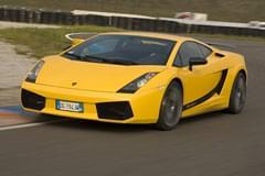 Lamborghini Gallardo Superleggere – widok z przodu