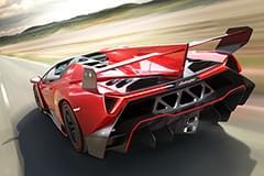 Lamborghini Veneno – widok z tyłu
