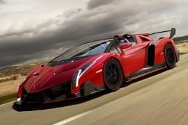 Lamborghini Veneno – widok z boku