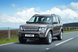 Land Rover Discovery – widok z przodu