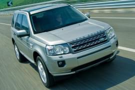 Land Rover Freelander – widok z przodu