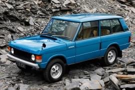 Range Rover na szutrze