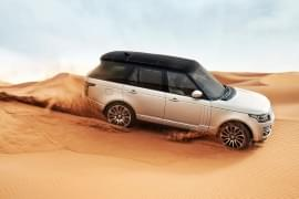 Range Rover na pustyni