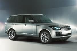 Range Rover – widok z boku