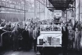 Land Rover w macierzystej fabryce w Solihull