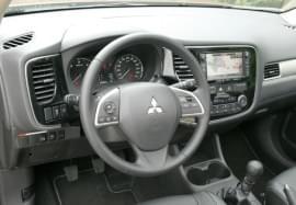 Mitsubishi Outlander od środka