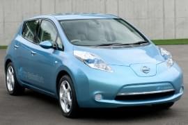 Nissan Leaf – widok z przodu