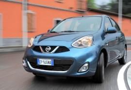 Nissan Micra – widok z przodu