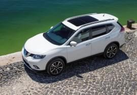 Nissan X-Trail – widok z góry