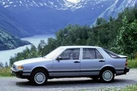Saab 9000 Turbo – widok z boku