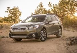 Subaru Outback – widok z przodu