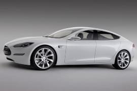 Tesla Model S – widok z boku