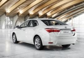 Toyota Corolla – widok z tyłu