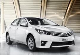 Toyota Corolla – widok z przodu