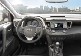 Toyota RAV4 – wnętrze