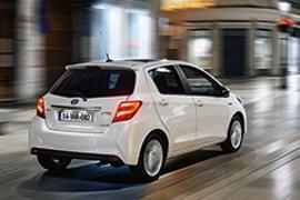 Toyota Yaris – widok z tyłu